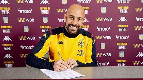 Pepe Reina quay lại Ngoại hạng Anh sau 6 năm