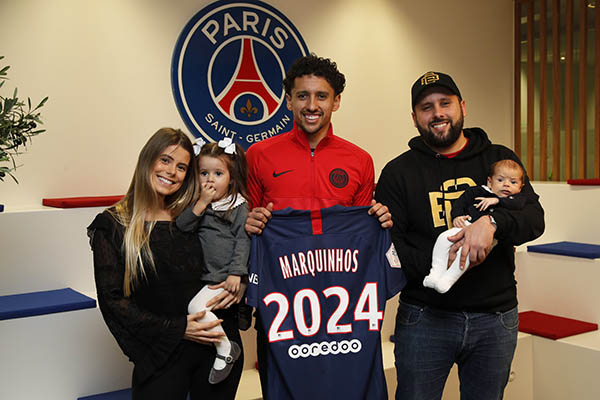 Marquinhos vẫn hạnh phúc ở PSG