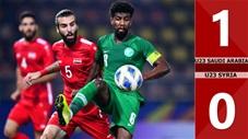 U23 Saudi Arabia 1-0 U23 Syria(CK U23 Châu Á 2020)