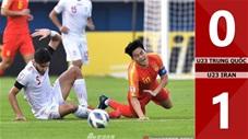U23 Trung Quốc 0-1 U23 Iran(CK U23 Châu Á 2020)