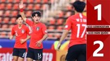 U23 Uzbekistan 1-2 U23 Hàn Quốc(CK U23 Châu Á 2020)