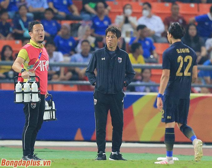 U23 Thái Lan có tới 8 sự điều chỉnh ở đội hình xuất phát khi gặp U23 Iraq. Một trong số đó chính là Ben Davis, ngôi sao trẻ đang chơi cho Fulham