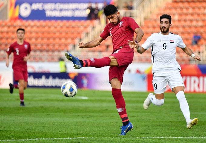 U23 Qatar bất lợi trước lượt cuối bảng B - VCK U23 châu Á 2020