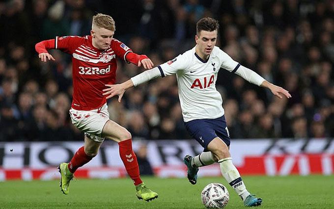 Lo Celso đã có trận đấu hay trước Middlesbrough