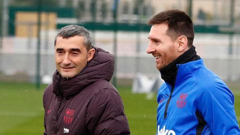 Messi ngậm ngùi tiễn Valverde qua... mạng xã hội