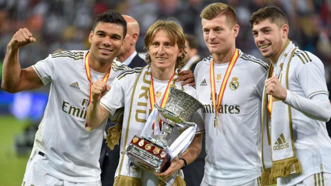 Chỉ với 100 triệu euro, Real Madrid đã có một hàng tiền vệ rất chất lượng