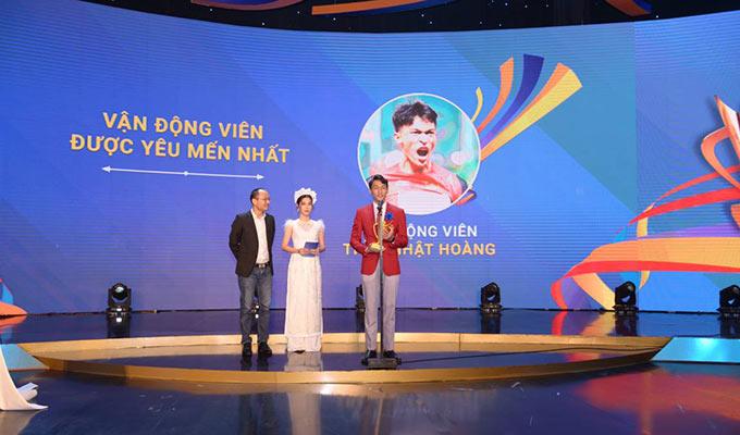 """Trần Nhật Hoàng là """"VĐV được yêu thích nhất"""" của Cúp chiến thắng 2019"""