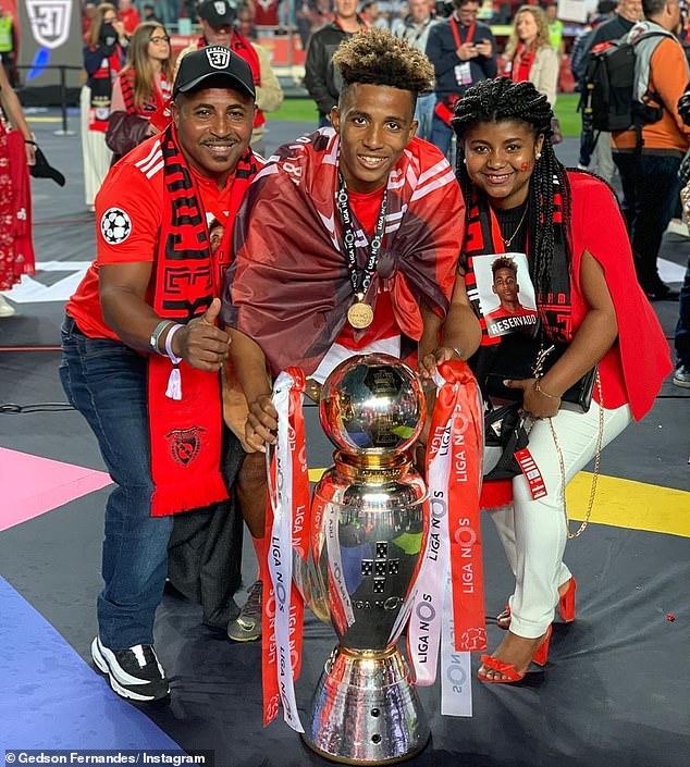 Gedson đã có chức vô địch Bồ Đào Nha cũng Benfica