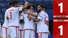 U23 Jordan 1-1 U23 UAE(CK U23 Châu Á 2020)