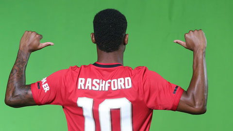 Rashford đăng ký độc quyền thương hiệu cá nhân
