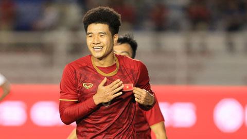 Đức Chinh được kỳ vọng sẽ ghi bàn tối nay để giúp U23 Việt Nam có chiến thắng Ảnh: Minh Tuấn