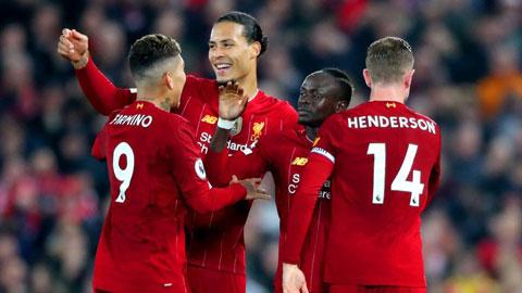 Nếu cứ giữ phong độ như từ đầu mùa giải đến nay, Liverpool sẽ phá hàng loạt kỷ lục tại Premier League