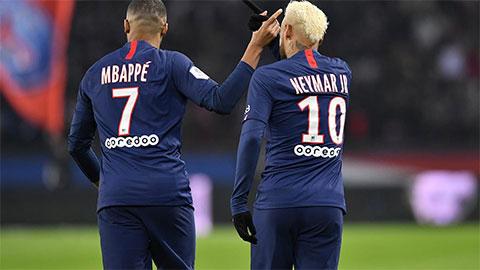 Neymar cân bằng kỷ lục Mbappe vừa mới thiết lập