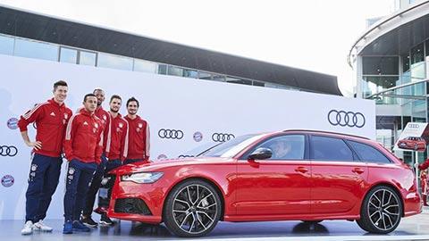Bayern được Audi 'bơm doping'