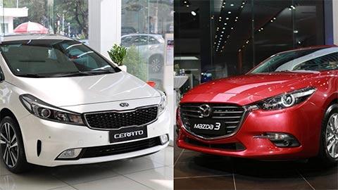 So sánh giá Mazda 3 2020 vs Kia Cerato đẹp long lanh tại thị trường Việt Nam
