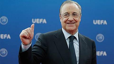 Chủ tịch Florentino Perez:  'Real đủ sức chinh phục mọi danh hiệu'