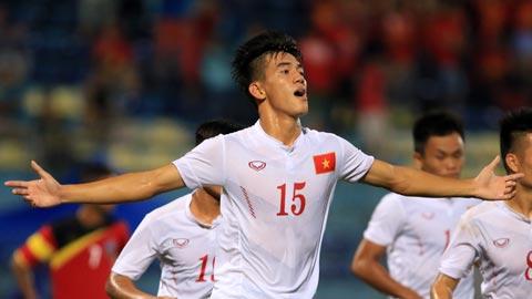 Tiến Linh tái hiện gần như y hệt bàn thắng vào lưới U22 Trung Quốc