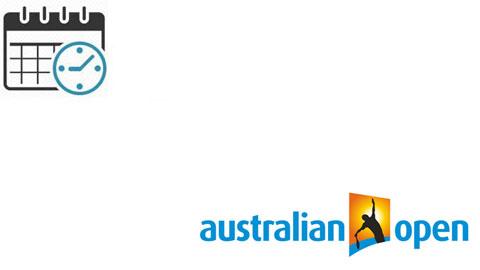 Lịch thi đấu Australian Open 2020