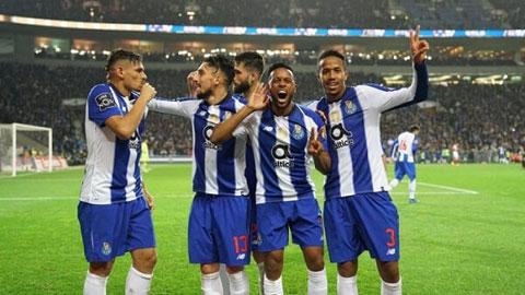 2h00 ngày 18/1: Porto vs Braga