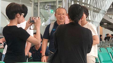 U23 Việt Nam về nước: Hạnh phúc từ những điều giản dị nhất