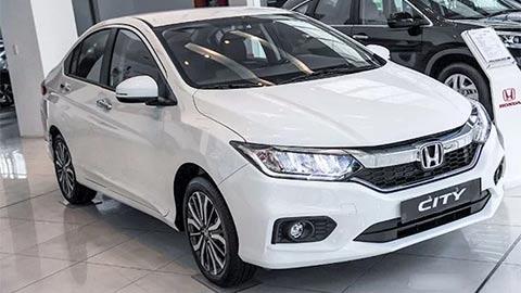 Honda Brio, City, Civic, HR-V, Accord 2020 đồng loạt giảm giá mạnh dịp cận Tết