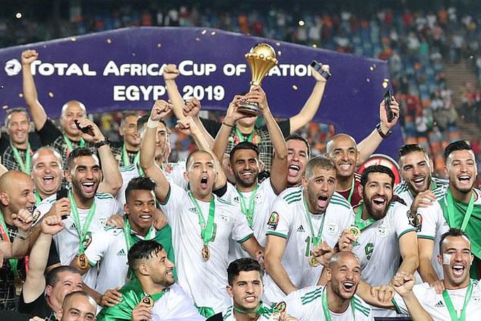 Algeria đã vô địch CAN 2019 tại Ai Cập