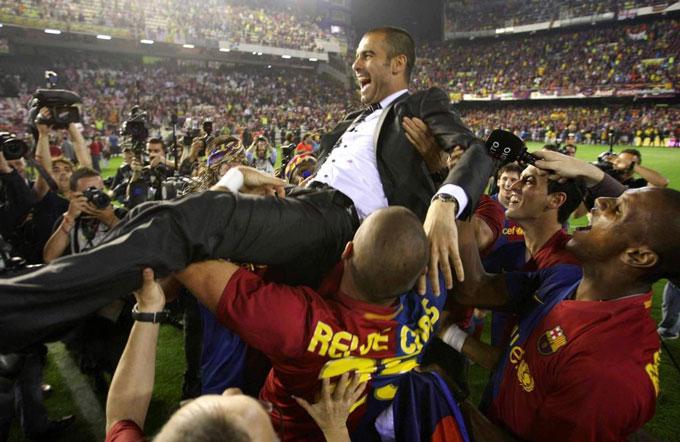 Guardiola đã thành công với triết lý của Cruyff