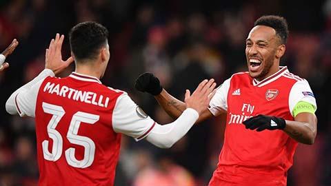 Martinelli là giải pháp cho một Arsenal không Aubameyang