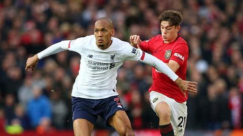 Liverpool cất Fabinho, Matip đối đầu M.U không Rashford