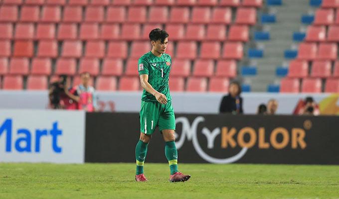 Bùi Tiến Dũng khép lại giải đấu đáng quên ở U23 châu Á 2018 - Ảnh: Minh Tuấn