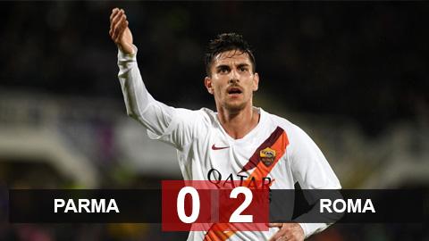 """Parma 0-2 Roma: Sao trẻ lập cú đúp, Roma """"đụng"""" Juventus tại tứ kết Coppa Italia"""