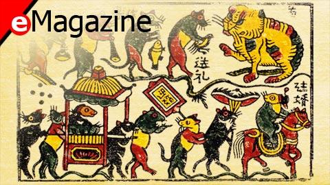 'Đám cưới chuột', bức tranh dân gian có tuổi đời 5 thế kỷ