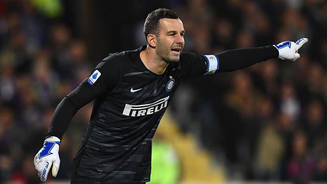 Handanovic đang là người gác đền chắc chắn bậc nhất ở Serie A