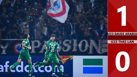 U23 Saudi Arabia 1-0 U23 Thái Lan(Tứ kết CK U23 Châu Á 2020)