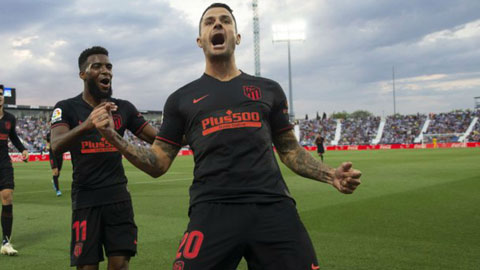 Atletico: Vitolo và bệ phóng Siêu Cúp Tây Ban Nha
