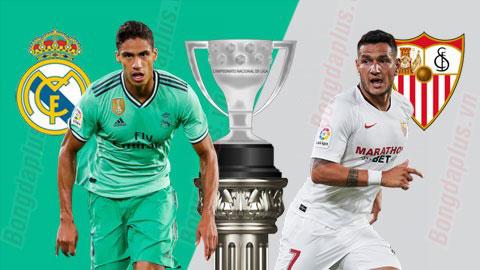 Nhận định bóng đá Real Madrid vs Sevilla, 22h00 ngày 18/1: Tiệc mừng tân vương