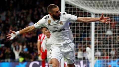 Benzema rất có thể sẽ chọc thủng lưới Sevilla