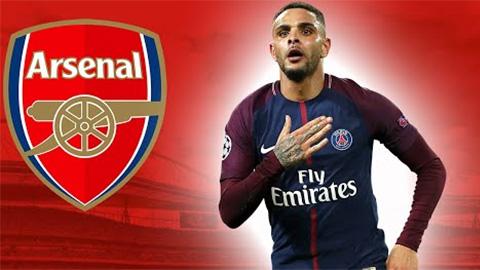 Arsenal ký hợp đồng 5 năm với Kurzawa