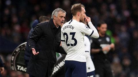 Mourinho đả kích Conte vụ Eriksen