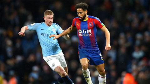 Trực tiếp Man City vs Crystal Palace, 22h00 ngày 18/1