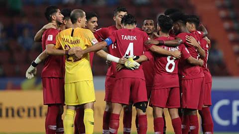 Qatar bắt tay vào chuẩn bị cho màn tranh tài với Messi sau khi bị loại ở U23 châu Á