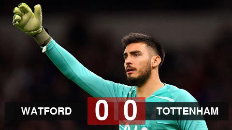 Kết quả Watford 0-0 Tottenham: Mourinho hết phép, Tottenham vẫn chưa thắng ở Ngoại hạng Anh trong năm 2020
