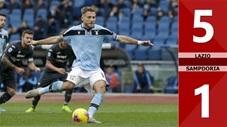 Lazio 5-1 Sampdoria(Vòng 20 Seri A 2019/20)