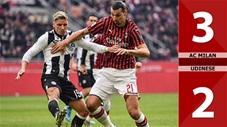 AC Milan 3-2 Udinese(Vòng 20 Seri A 2019/20)