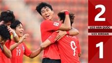 U23 Hàn Quốc 2-1 U23 Jordan(Tứ kết CK U23 Châu Á 2020)