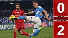 Napoli 0-2 Fiorentina(Vòng 20 Seri A 2019/20)