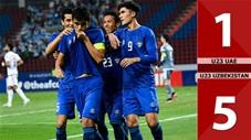 U23 UAE 1-5 U23 Uzbekistan(Tứ kết CK U23 Châu Á 2020)