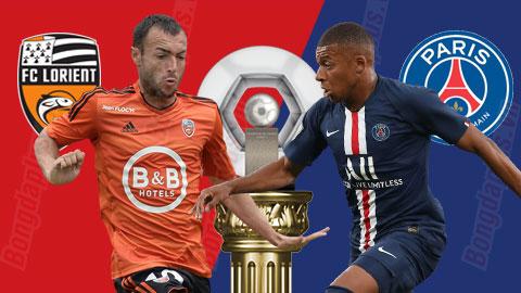 Nhận định bóng đá Lorient vs PSG, 2h55 ngày 201