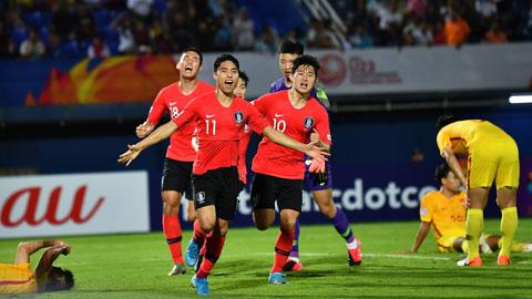 Tứ kết U23 châu Á: U23 Hàn Quốc sẽ khẳng định tư cách ứng viên vô địch