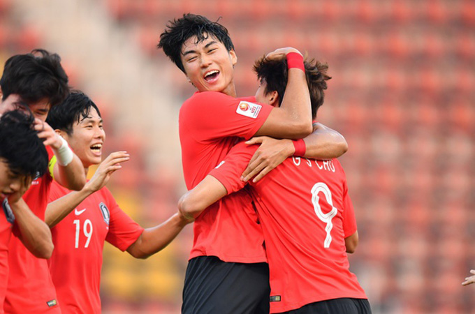 U23 Hàn Quốc vào bán kết - Ảnh: AFC